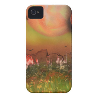 Alien World iPhone 4 Case-Mate Cases