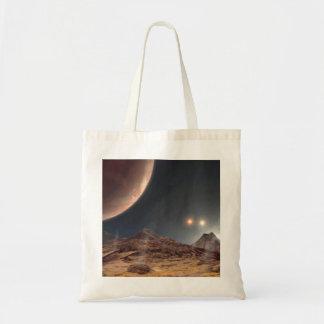 Alien World Shopper Tote Bag