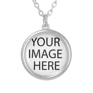 Alien World Silver Plated Necklace