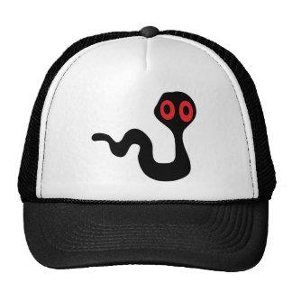alien worm mesh hats