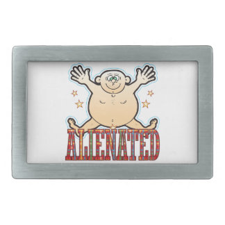 Alienated Fat Man Belt Buckle