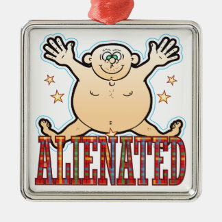Alienated Fat Man Christmas Ornament