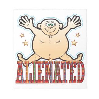 Alienated Fat Man Notepad