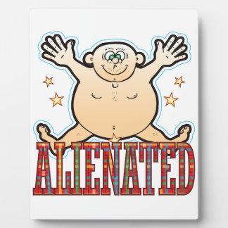 Alienated Fat Man Plaque