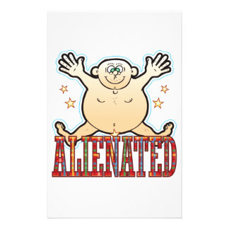 Alienated Fat Man Stationery