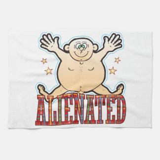Alienated Fat Man Tea Towel
