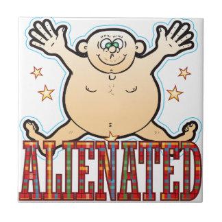 Alienated Fat Man Tile