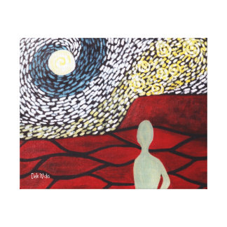 Alienation Canvas Print