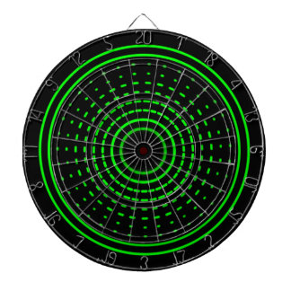 Aliens Alarm Green Gamma Light Dartboard