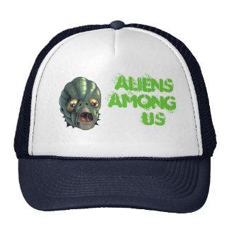aliens among us mesh hats