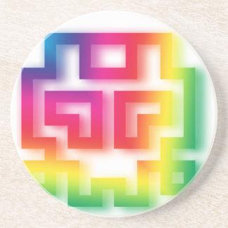 Aliens' aren't Gray - they're Rainbow ! Coaster