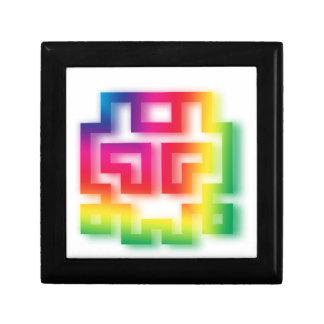 Aliens' aren't Gray - they're Rainbow ! Gift Box