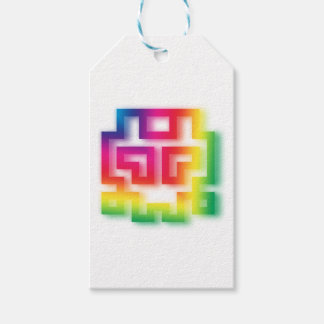 Aliens' aren't Gray - they're Rainbow ! Gift Tags