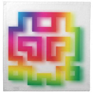 Aliens' aren't Gray - they're Rainbow ! Napkin