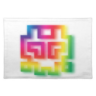 Aliens' aren't Gray - they're Rainbow ! Placemat