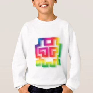 Aliens' aren't Gray - they're Rainbow ! Sweatshirt