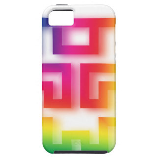 Aliens' aren't Gray - they're Rainbow ! Tough iPhone 5 Case