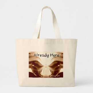 Aliens Calling jpg Tote Bags