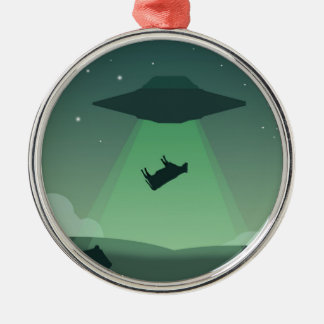Aliens Christmas Ornament