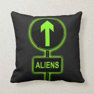 Aliens concept. cushion