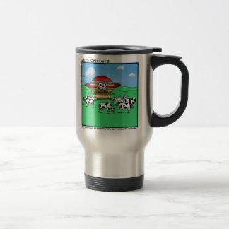 Aliens Cows Travel Mug