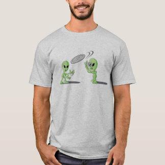 Aliens Frisbee UFO Hoax T-shirt