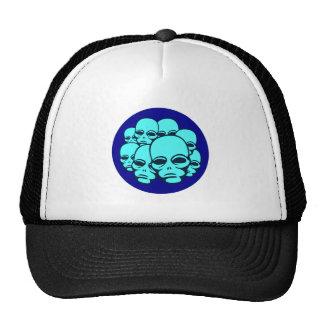 Aliens Mesh Hats