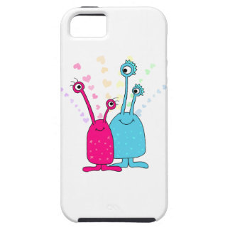Aliens in Love iPhone 5 Cover