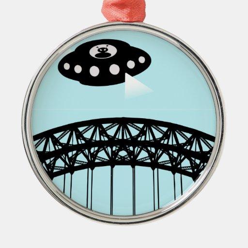 Aliens invade Newcastle Ornaments