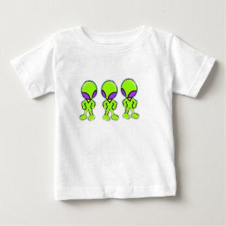 Aliens Little Green Men Baby T-Shirt