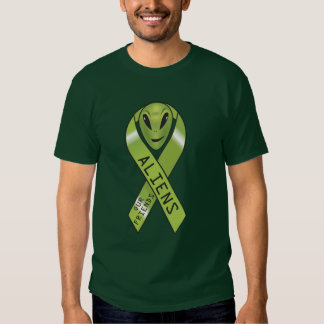 Aliens - our friends ribbon shirts