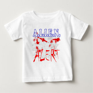 Aliens UFO flying saucers spacecraft Baby T-Shirt