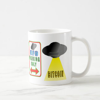 Aliens Want Bitcoin Too Coffee Mug
