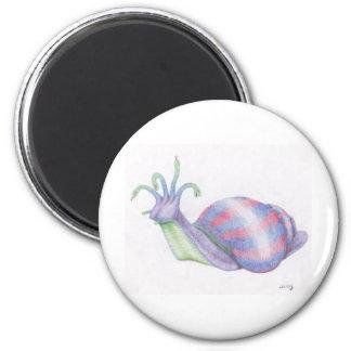 AlienSnail 6 Cm Round Magnet