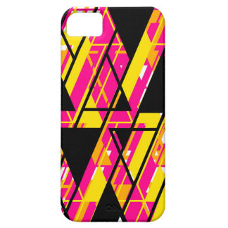 Align Graphic Design Bright iPhone 5 Case