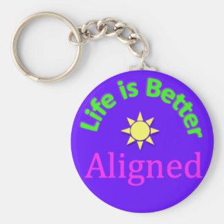 Alignment key chain