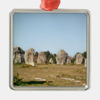 Alignment of standing stones, Megalithic Christmas Ornament