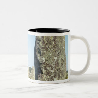 Alignment of standing stones, Megalithic Coffee Mug