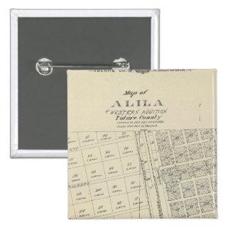 Alila 15 Cm Square Badge