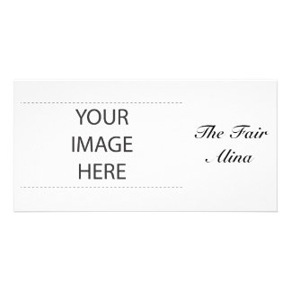Alina With Celtic Meaning Personalized Photo Card