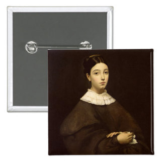 Aline Chasseriau  1835 15 Cm Square Badge