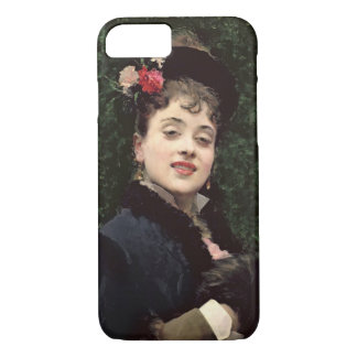 Aline Masson, the Artist's Model (oil on panel) iPhone 8/7 Case