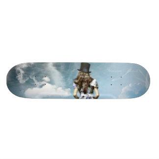 Alis in wonderland skate board