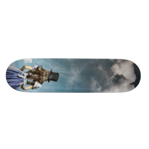 Alis in wonderland skate board deck