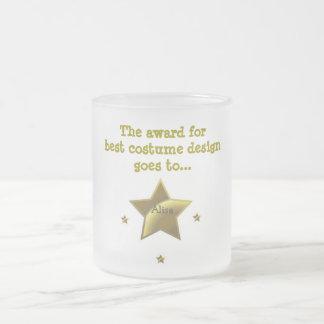 Alisa: The Award For Best Costume Design Frosted Glass Mug