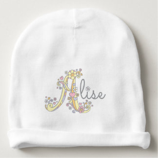 Alise or your own A name baby girl beanie Baby Beanie