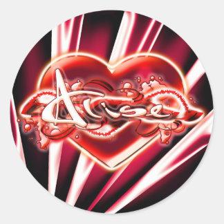 Alise Round Sticker
