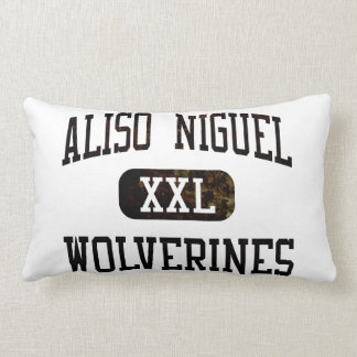 Aliso Niguel Wolverines Athletics Throw Pillow