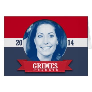 ALISON LUNDERGAN GRIMES 2014 GREETING CARD