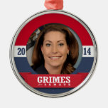 ALISON LUNDERGAN-GRIMES CAMPAIGN CHRISTMAS ORNAMENTS